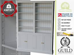 Large White Bookcase by Contemporary Painted 2ft 4