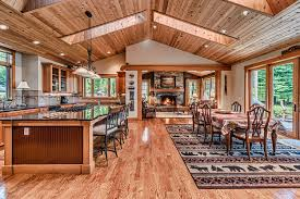 tour the home soaring eagle lodge 8 dining area is large enough for the entire family