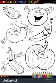 coloring book page cartoon illustration funny stock vector