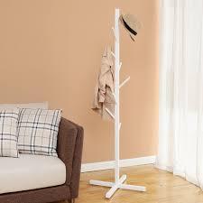 creatwo creative tree floor bedroom hallway coat rack hangers