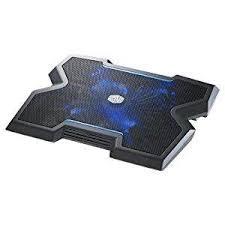 Lap Desk With Fan Amazon Com Cooler Master Notepal Lapair Laptop Lap Desk With
