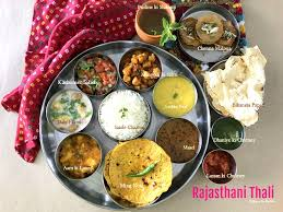 cuisine rajasthan protein based rajasthani thali and mangodi ki sabzi ribbons to pastas