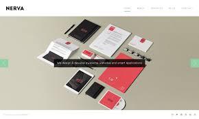 nerva minimal design html template by premiumlayers themeforest