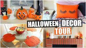 halloween home decor tour 2017 youtube