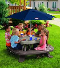 kids outdoor picnic table kids outdoor patio furniture fifthroom com table image kitchen