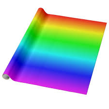 ombre wrapping paper multicolored rainbow ombre wrapping paper zazzle