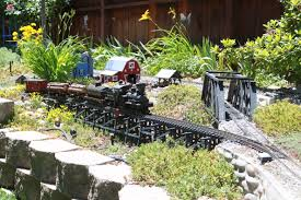 home water u0026 rails pond u0026 garden railroad tour reno