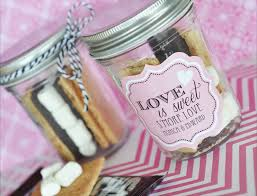 smores wedding favors day 13 s mores in a jar the blossomer
