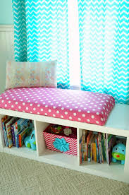Window Seat Storage Bench Diy by Diy Window Seat Bookcase With No Sew Bench Cushion