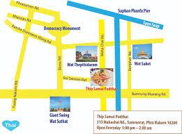 Map Pad The Best Pad Thai In Bangkok Thip Samai Restaurant Love Thai Maak