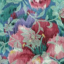 Brocade Home Decor by 3 4 Yard Brocade Green Pink Purple Satin Floral Home Decor Or