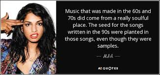 m i a quote that was made in the 60s and 70s did