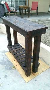 diy entryway table plans entry table plans rustic entryway table furniture eclectic entry