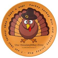 the thanksgiving song excerpt porcelain plates snl merch i