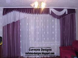 Purple And White Curtains Luxury Drapes Curtain Design For Bedroom This Luxury Curtain Made