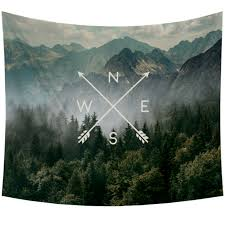 compass tapestry 60 x 50 in at home at home
