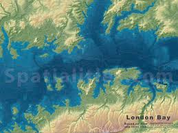 London On World Map by Sea Level Rise Maps Spatialities