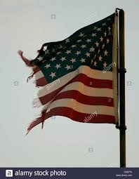 Usa Stars Flag Ripped Torn Tattered American Flag Usa Windblown Old Glory Star