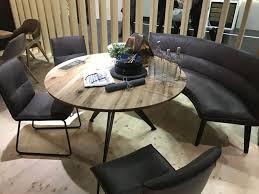 dining room table with bench seat interiors curved bench for round table