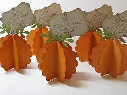 thanksgiving place cards or picture holder make these with some
