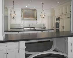 Zinc Kitchen Island - large kitchen island with stools zinc french kitchen hood