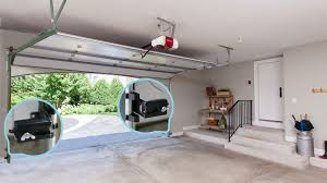 troubleshooter interior of garage safety reversing sensors highlighted