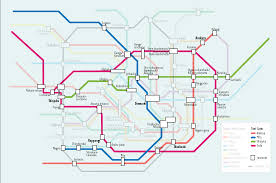 Subway Los Angeles Map by A Simple Map Of The Tokyo Metro