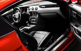 mustang 2015 inside 2015 mustang options features motor review