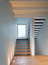 staircase and windows design in valna house design by jsa