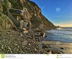 the unique architecture of the beach front mushroom house in la