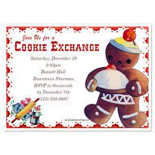 vintage cookie exchange invitations u0026 cards on pingg com