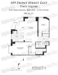 Cn Tower Floor Plan by New Times Square Toronto Remax Condos Plus
