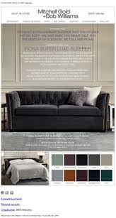 Bobs Sleeper Sofa Keaton Collection Mitchell Gold Bob Williams Furniture 5525
