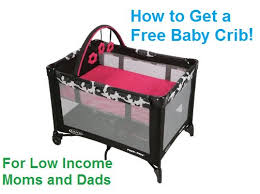 burlington baby department how to get a free baby crib if you re a low income or
