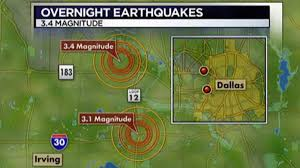 Dallas Weather Map by Three Earthquakes Shake North Texas Nbc 5 Dallas Fort Worth