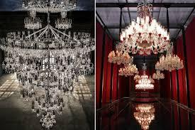 Baccarat Chandelier Largest Baccarat Chandelier Luxury Topics Luxury Portal