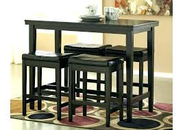 black high table and chairs bar stool and table sets kitchen pub table sets kitchen pub table