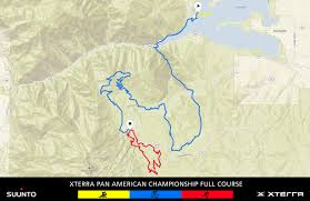 Eden Utah Map by Xterra Pan Am Championship Xterra