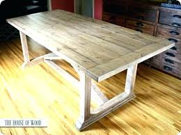 how to make a rustic kitchen table how to build a kitchen table plans thelodge club