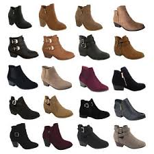 ebay womens ankle boots size 9 womens high heels booties ankle boots fashion low shoes wedge