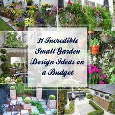 Backyard Landscaping Design Ideas On A Budget 31 Incredible Small Garden Design Ideas On A Budget Gardenoid