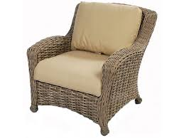 Patio Club Chairs Ebel Dreux Driftwood Wicker Seating Club Chair