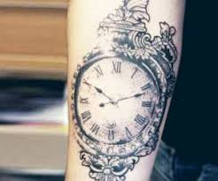 watch tattoo motive