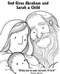 coloring page abraham and sarah competitive abraham and sarah coloring page colossal abraham and