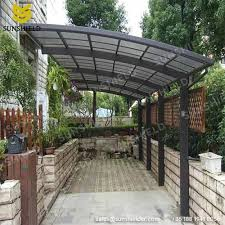 Free Standing Awning Polycarboante Patio Cover Aluminum Patio Awning Sunshield