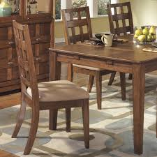 furniture cozy dining room with brown rustic walnut wood dining