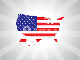 cool usa map with us flag royalty free stock image storyblocks