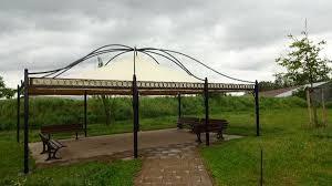 balkon pavillon pavillon rechteckig partyzelt metallpavillon gartenlaube gazebo