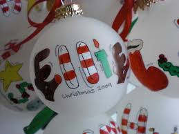 personalized ornaments lights