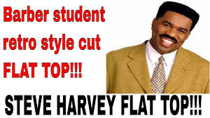 steve harvey haircut by barber student youtube